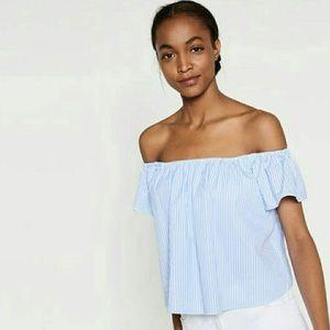 Zara Off the Shoulder Top